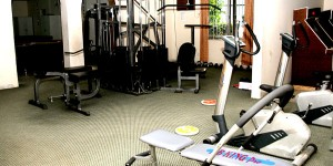 gym at jamuna resort